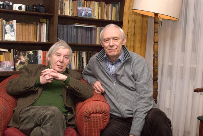 Jacenty Siewierski i Jacek Kwasniewski