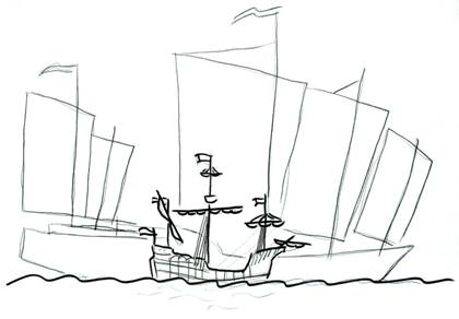 Obrazek statek